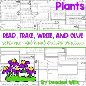 Plants sentence writing