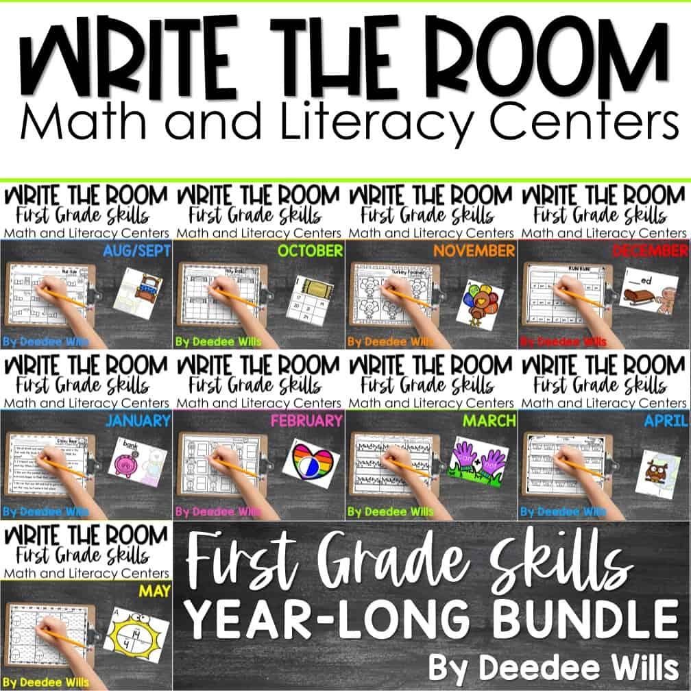 Write the Room 1st Grade: Bundle 5