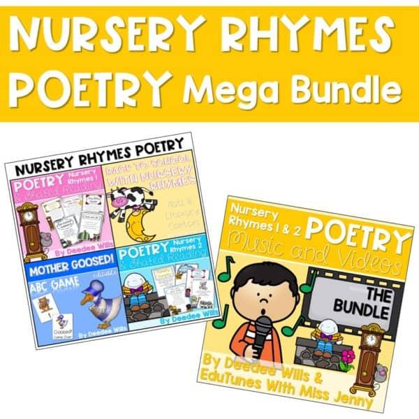 Nursery Rhymes Poetry Mega Bundle 1