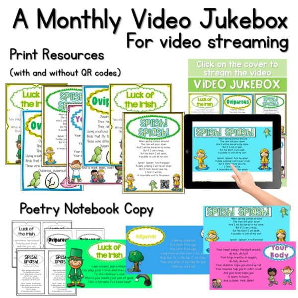 Poetry 1 Music and Video March 2