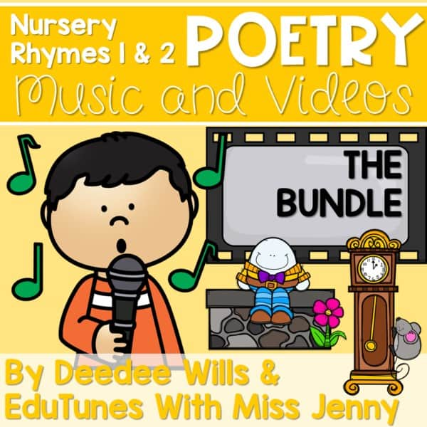 Poetry Music and VIDEOS Nursery Rhymes 1