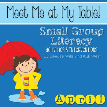 Small Group April ~ Meet Me At My Table 1