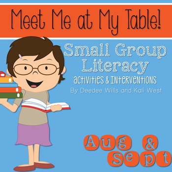 Small Group August and September ~ Meet Me At My Table 1