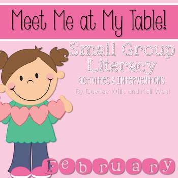 Small Group February~ Meet Me At My Table 1