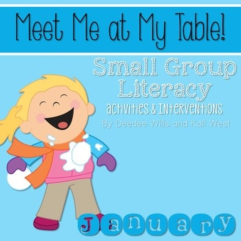 Small Group January~ Meet Me At My Table 1