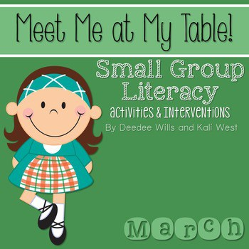 Small Group March~ Meet Me At My Table 1