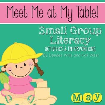 Small Group May ~ Meet Me At My Table 1