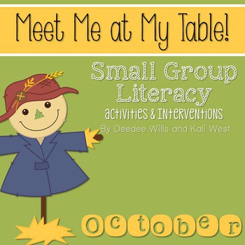 Small Group October ~ Meet Me At My Table 1