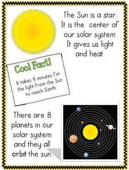 Space Math and Literacy Unit 2