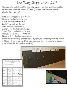 Space Math and Literacy Unit 3