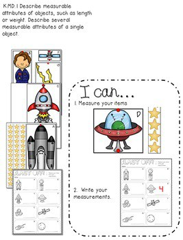 Space Math and Literacy Unit 4