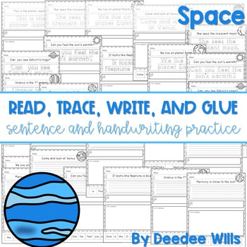 Space read, trace, glue, and draw 1