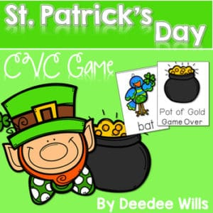 St Patricks Day: Read, Trace, Glue, and Draw 8
