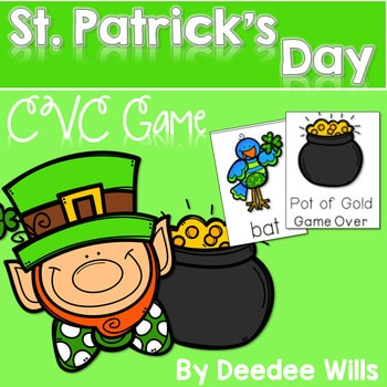 St Patricks Day CVC Memory Match and Pot-Of-Gold Game 1