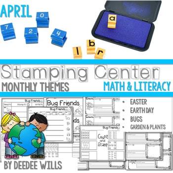 Stamping Center! April 1