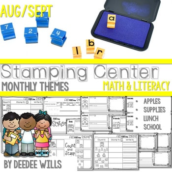 Stamping Center! August and September 1