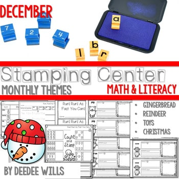 Stamping Center! December 1