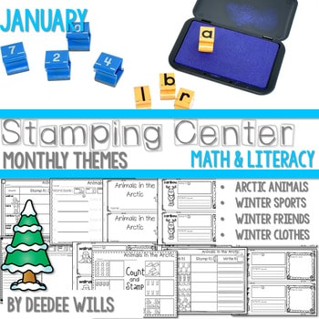 Stamping Center! January 1
