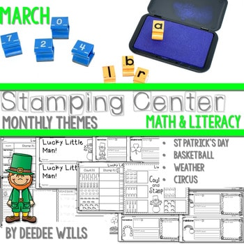 Stamping Center! March 1