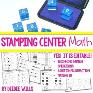 Phonics STAMPING Center ~ Long Vowels and Vowel Teams 7