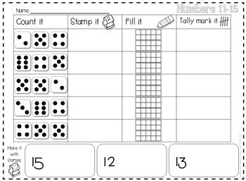 Stamping Center Math Fun-editable 3