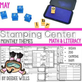 Stamping Center! May 1