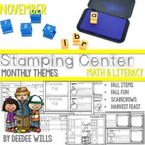 Writing Station for November 8