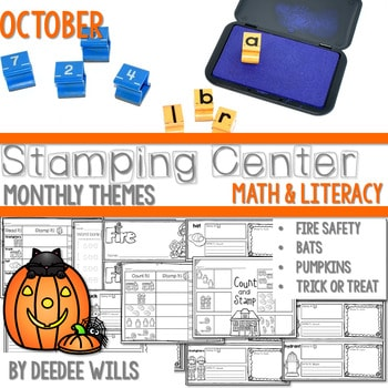 Stamping Center! October 1