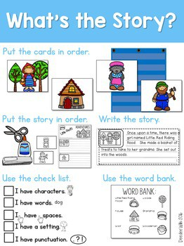 Story Sequence Nursery Rhymes and Fairy Tales 2