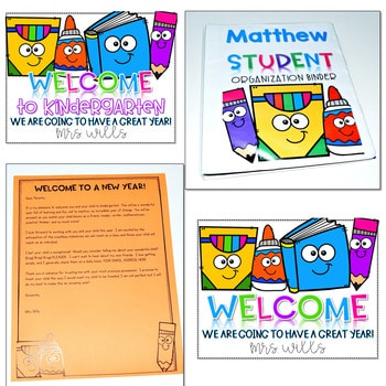 Student Binder Covers, Newsletter Templates, and Calendars EDITABLE 2