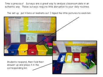 Survey Says! Name Writing Practice + Survey Graphing Fun!-Editable 2