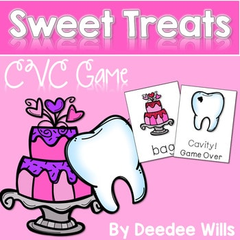 Sweet Treats! A CVC Memory Match and Cavity Game 1