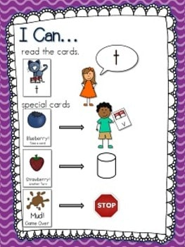 The Cat's Pajamas Memory and ABC Game-Editable 4