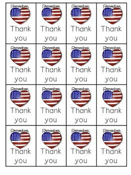 Veteran's Day ABC and Sight Words Roll, Say, Keep-Editable 4