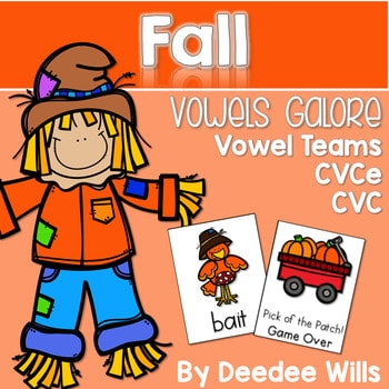 Vowel Teams: Fall 1