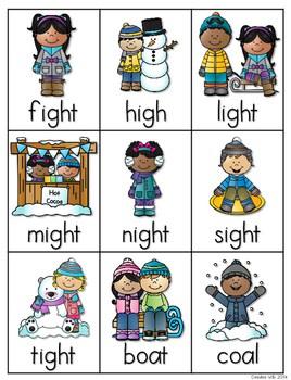 Vowel Teams: Winter 4