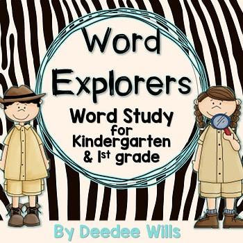 Word Explorer Word Study for Kindergarten and 1st grade 1