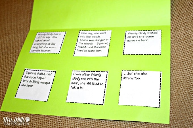 Wordy Birdy Reading Lesson Ideas! These kindergarten, first grade, and second-grade ideas for a close read are easy to prepare. Student writing response pages and discussion stems are included. Retelling, reading comprehension, and craft lessons too.