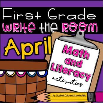 Write the Room 1st Grade: April 1
