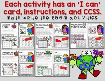 Write the Room 1st Grade: April 4