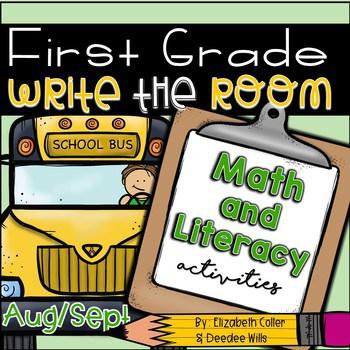 Write the Room 1st Grade: August & September 1