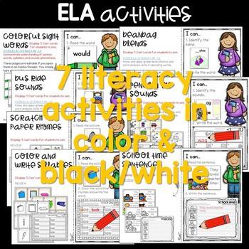 Write the Room 1st Grade: August & September 3