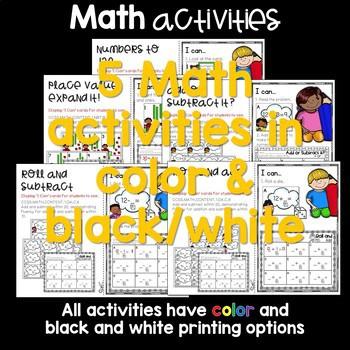 Write the Room 1st Grade: August & September 4