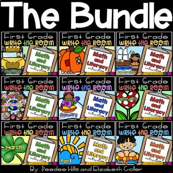 Write the Room 1st Grade: Bundle 1