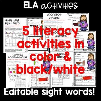 Write the Room 1st Grade: December 3