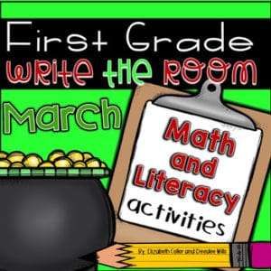 Math and Literacy Center Activities-First Grade December 6