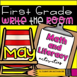 Math and Literacy Center Activities-First Grade March 6