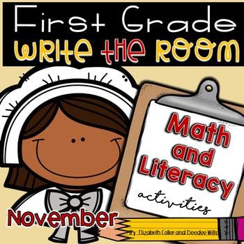 Write the Room 1st Grade: November 1