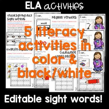 Write the Room 1st Grade: November 3