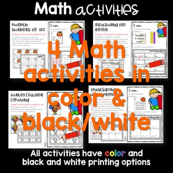 Write the Room 1st Grade: November 4